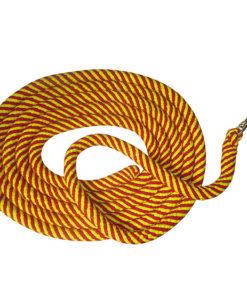 Dlhá bavlnená drezúrna linka s karabínou 6 metrov