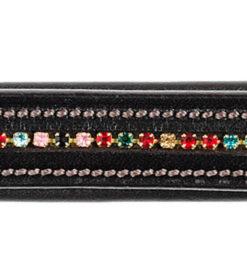 Frontalera  Tattini De Brillantes Multicolores